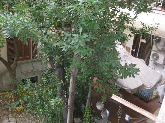 La Residenza dell'Orafo: Вид из окна во внутренний двор