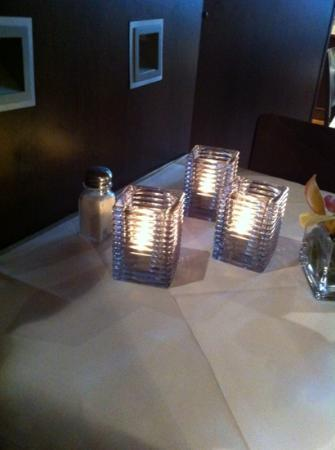 Belmondo Restaurant: My table during lunch