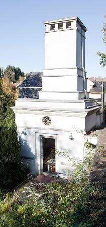 Hotel Trafohaus: Aussenansicht Turm