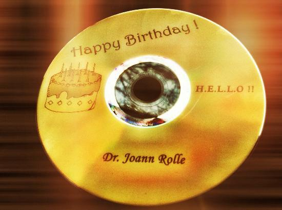Kimpton Hotel Monaco Philadelphia: Over the top customer service - my personal Birthday CD from Rashid