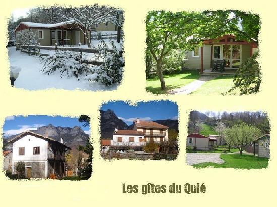 Gites et Chalets du Quié : 19 chambres dans un village à la montagne