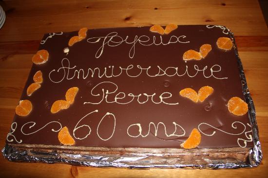 Rochers-de-Naye Yurts : Gâteau sur commande