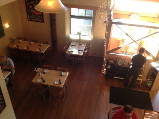 Three Forks Grille : View from above