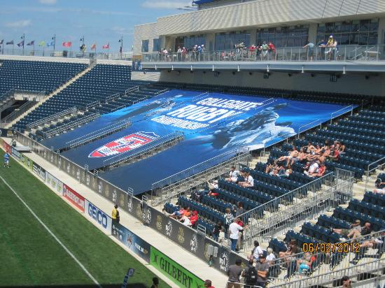 Talen Energy Stadium: northside stands