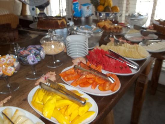 Armacao Beach: Desayuno