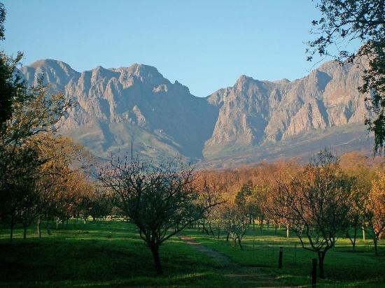 Somerset Sights B&B: Blick auf die Hottentot Berge