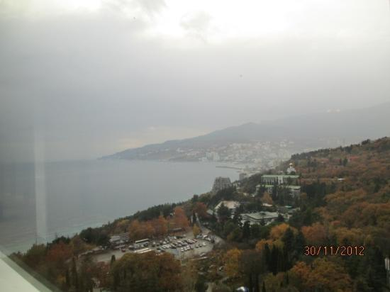 Yalta Intourist Hotel: View from the Room
