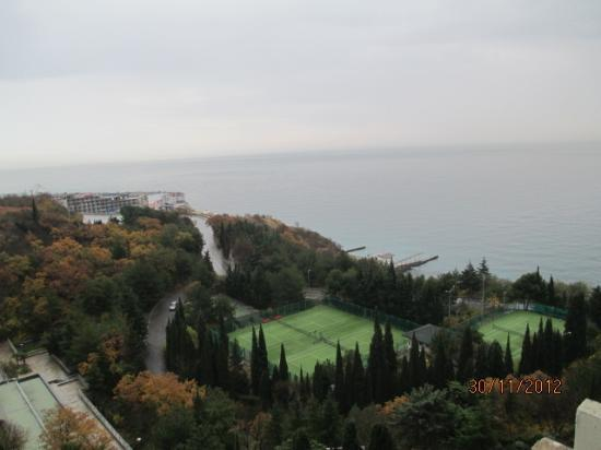 ‪‪Yalta Intourist Hotel‬: View from the Room