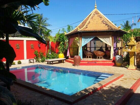 Sun Sothy Guesthouse: la piscine, super agréable