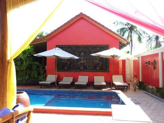Sun Sothy Guesthouse: bonne sieste à l'ombre !