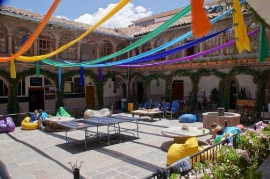 Pariwana Hostel Cusco: Innenhof
