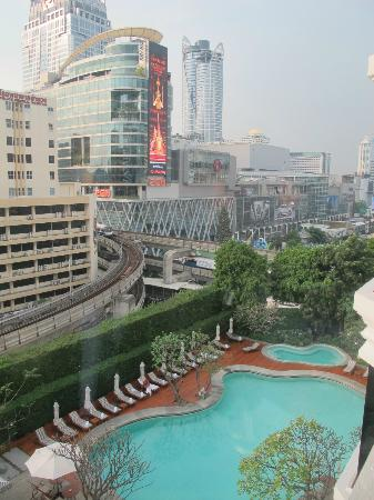 Grand Hyatt Erawan Bangkok: View from room