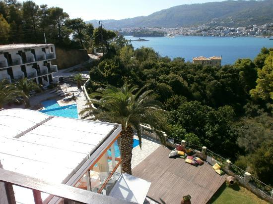 Hotel Punta : vista dal balcone