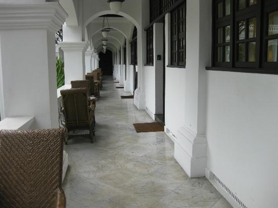 Raffles Hotel Singapore: 通路