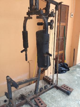 Moon Paradise Bungalows: The gym hahaha!!!!