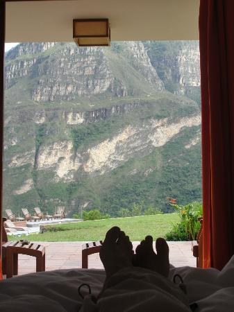 Gocta Andes Lodge : Room with a view