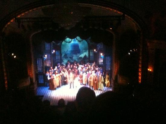 Historic Cocoa Village Playhouse Cast Shot From 5th Row In Balcony