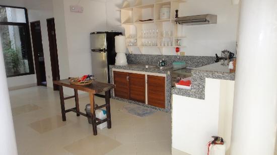 أرجوناوتا بوراكاي بوتيك هوتل: villa 6 kitchen