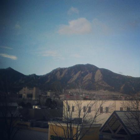 Boulder Marriott: 3rd Floor view