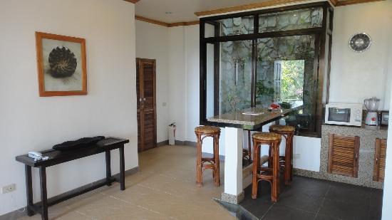 أرجوناوتا بوراكاي بوتيك هوتل: villa 12 lounge bar