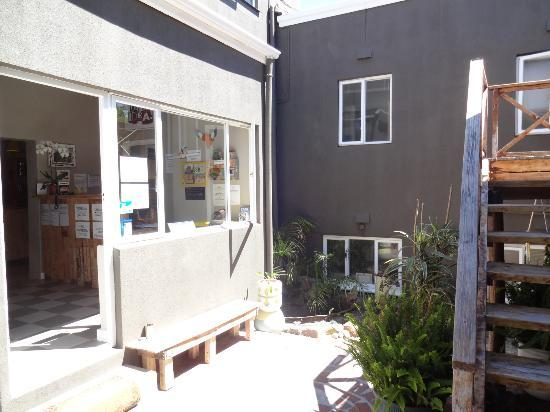 The Backpackers in Green Point: Entrance