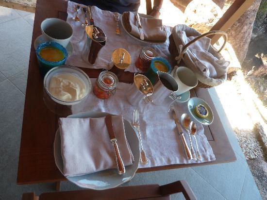 Le Chateau de Feuilles: petit déjeuner