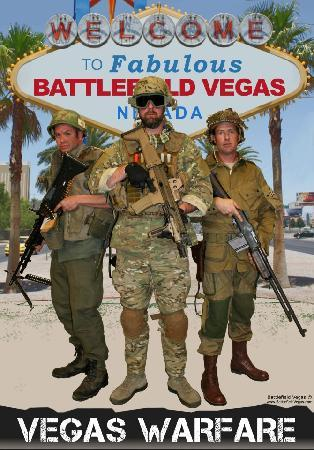 Battlefield Vegas: From the newest hardware all the way back to World War I, we have over 350 machineguns in our in