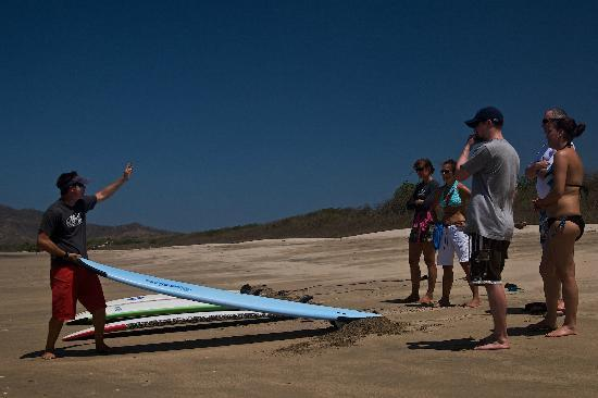 Point Break Surf School: Lessons on the beach