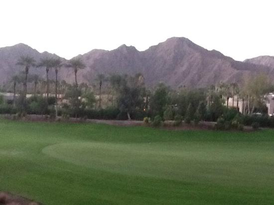 Renaissance Indian Wells Resort & Spa: The view from my room.
