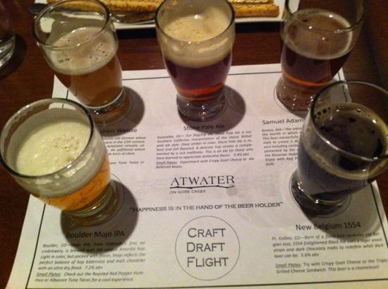 Vail Cascade Resort & Spa: beer pairing meal