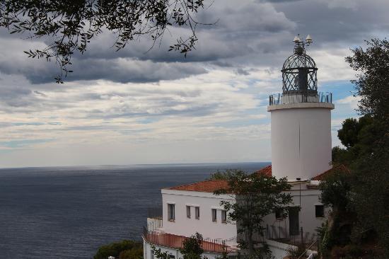 Hotel Terramar: Lighthouse Sant Sebastian