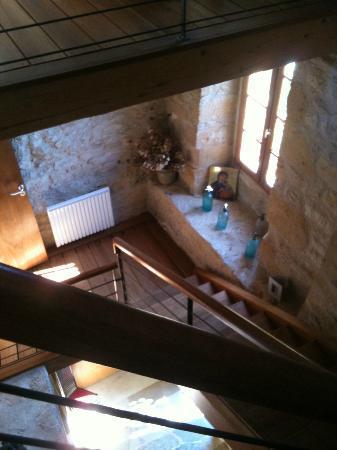 La Caminade: Ecaliers chambres