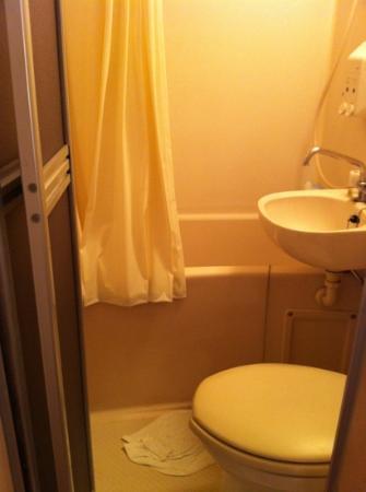 Hotel Kiyoshi Nagoya : super small toilet