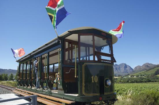 Franschhoek Wine Tram: The wine tram