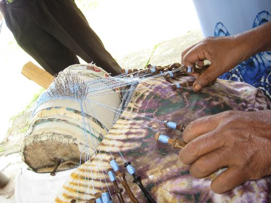 Visit Weligama: Painstaking handwork to make the fine lace