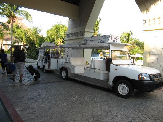 Grand Bahia Principe Coba: Navette