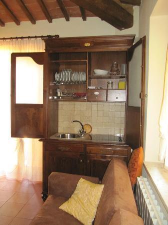 Agriturismo Esperia: suite Radicofani_con cucina armadio