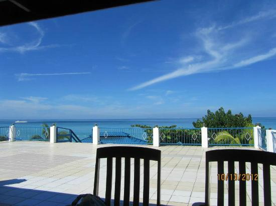 Negril Tree House Resort: our view from breakfast each day