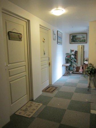 La Ferme du Manoir: un couloir