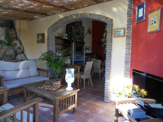 B&B Guesthouse Casa Don Carlos: Lounge area