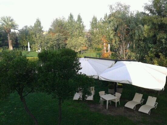Relais Villa Buonanno: vista del giardino