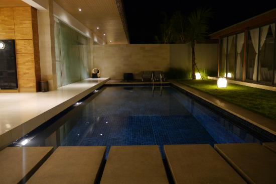 One Eleven: The inviting pool by night