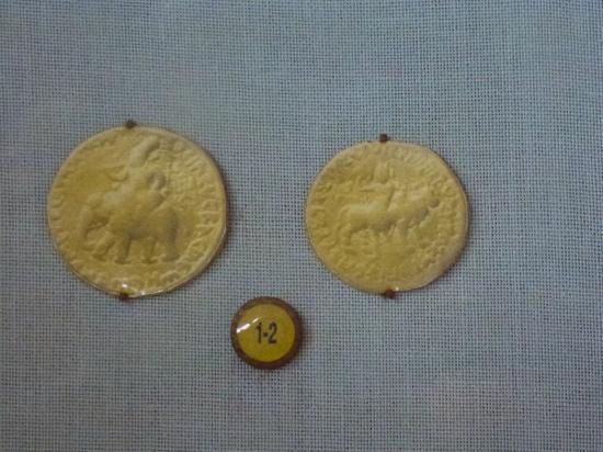 Coin Museum: antike Münzen