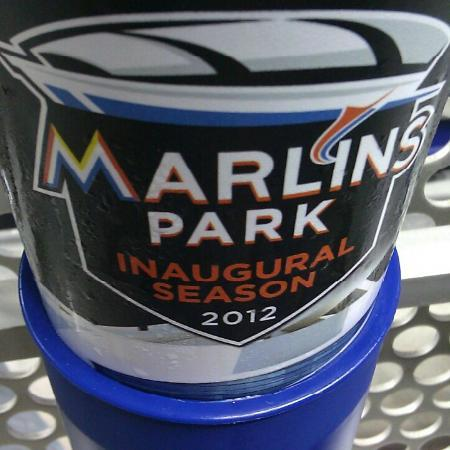 Miami, FL: Refillable Marlins Park cup