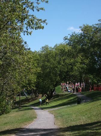Parc Lineaire de la Riviere St-Charles: Près du parc Jean-Roger-Durand