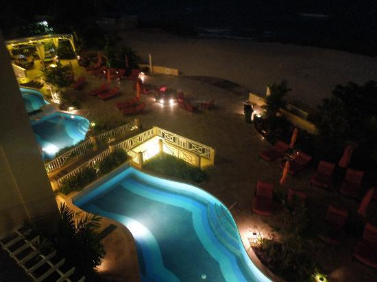 Ocean Two Resort & Residences: Pool by night