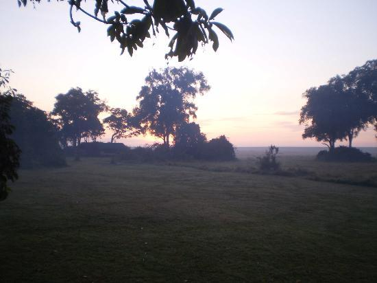 Governor's Camp: another sunrise view