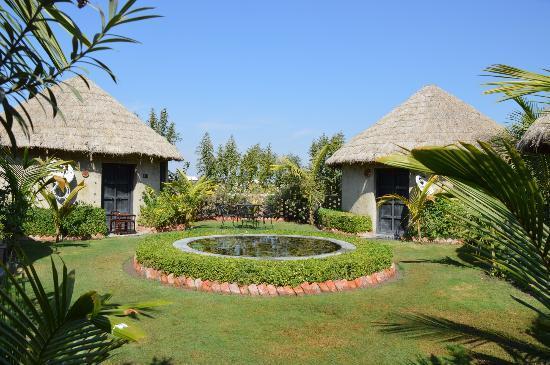 Rann Riders Safari Resort: camere e giardino