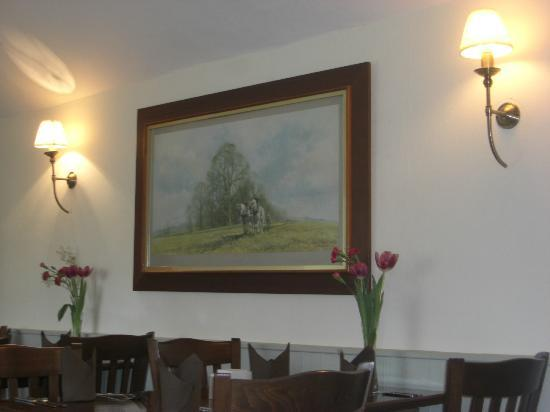 The Sutton Plough: Top restaurant room at The Plough!