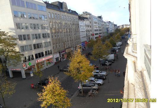 Novum Hotel Hamburg Stadtzentrum: zimmer zur straße